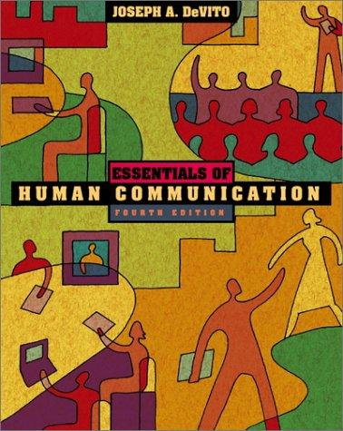 Download Essentials of Human Communication (with Interactive Companion CD-ROM) (4th Edition)