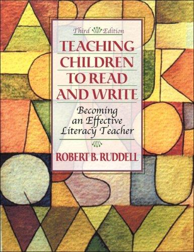 Download Teaching Children to Read and Write