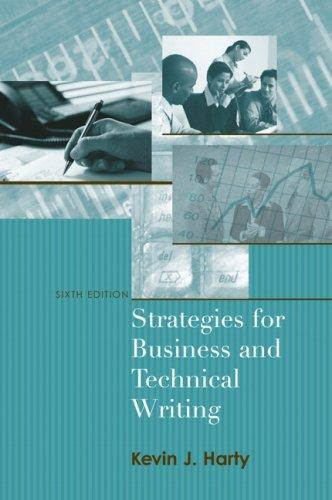 Download Strategies for Business and Technical Writing (6th Edition)