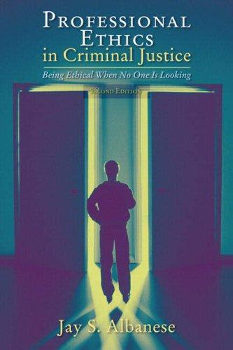 Download Professional Ethics in Criminal Justice