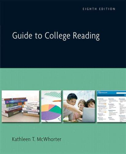 Download Guide to College Reading (8th Edition)