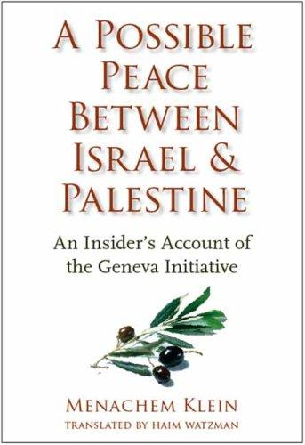 Download A Possible Peace Between Israel and Palestine