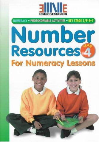 Number Resources for Numeracy Lessons (Evans Bookshelf)