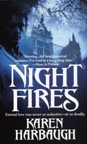 Night fires by Karen Harbaugh