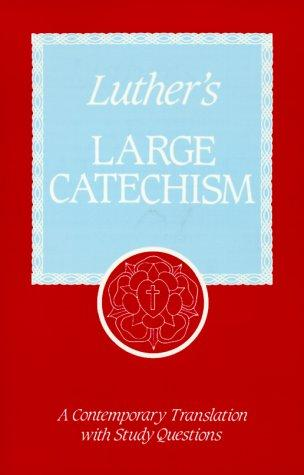 Download Luther's Large catechism