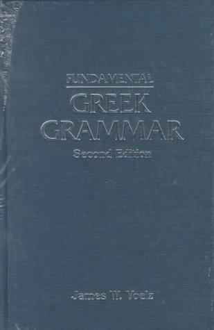 Download Fundamental Greek grammar