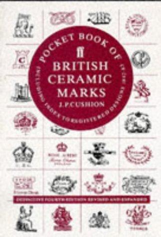 Pocket book of British ceramic marks, including index to registered designs, 1842-83