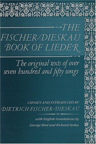 Download The Fischer-Dieskau book of Lieder