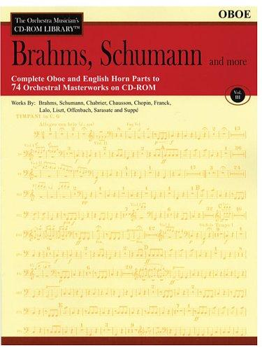 Brahms, Schumann and More