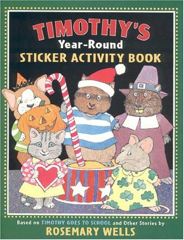 Timothy's Year-Round Sticker Activity Book