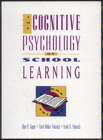 Download The cognitive psychology of school learning