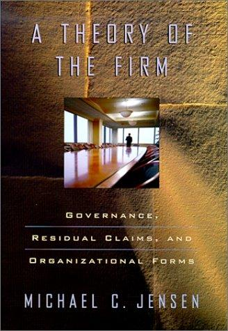 Download A Theory of the Firm