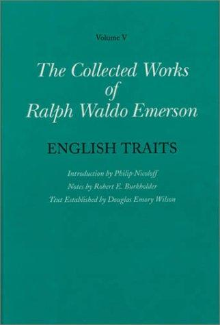 English traits by Ralph Waldo Emerson