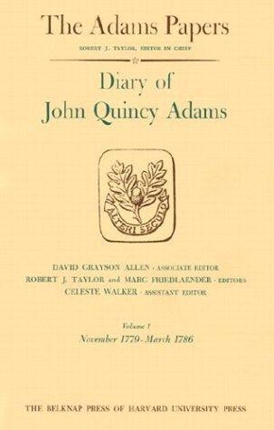 Download Diary of John Quincy Adams