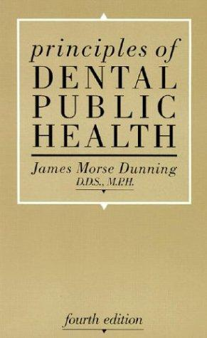 Principles of dental public health