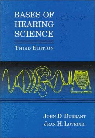 Download Bases of hearing science