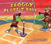 Froggy Plays T-Ball Cover