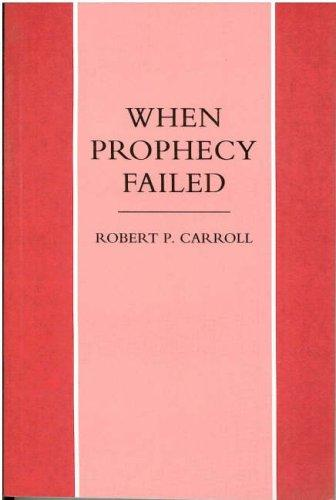 When Prophecy Failed