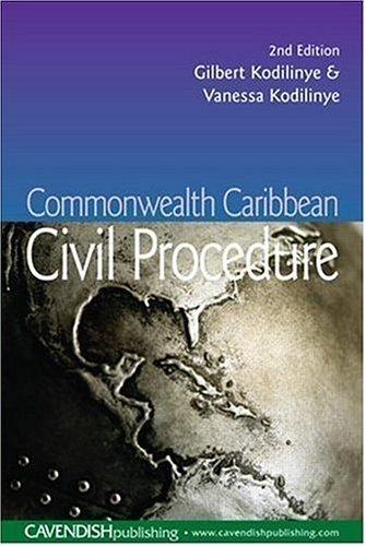 Download Commonwealth Caribbean civil procedure