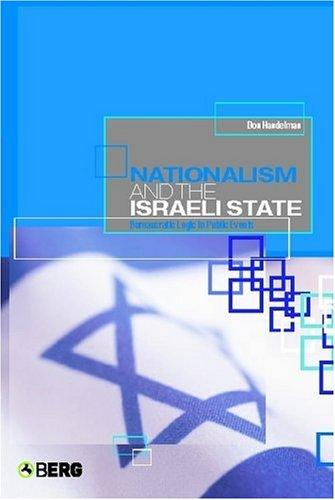 Download Nationalism and the Israeli State
