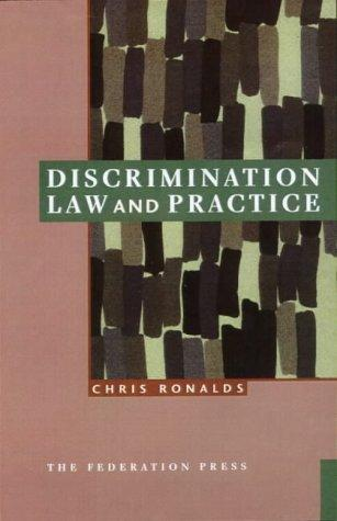 Download Discrimination Law and Practice
