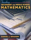 Teaching Secondary and Middle School Mathematics (3rd Edition)