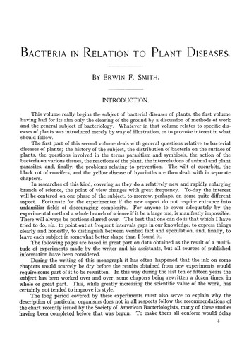 Download Bacteria in relation to plant diseases