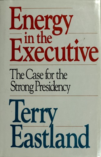 Energy in the Executive