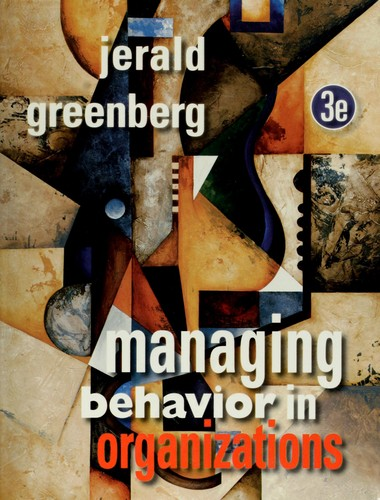 Download Managing behavior in organizations