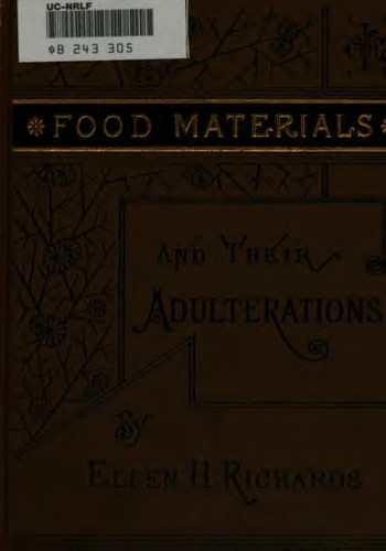Download Food materials and their adulterations.