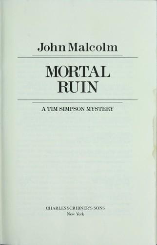 Download Mortal ruin