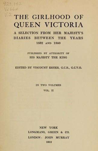 Download The girlhood of Queen Victoria
