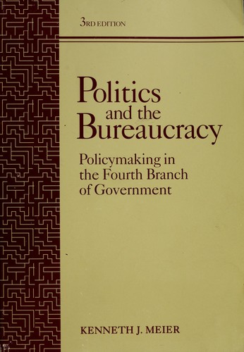 Download Politics and the bureaucracy