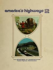Download America's highways, 1776-1976