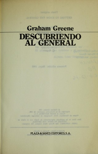 Download Descubriendo al general