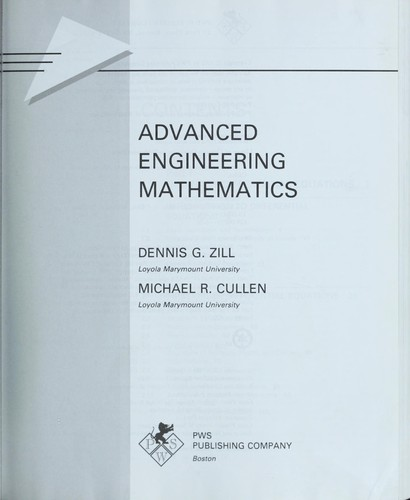Download Advanced engineering mathematics