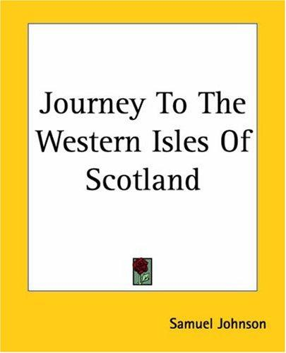 Download Journey To The Western Isles Of Scotland