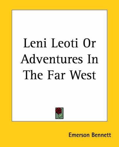 Download Leni Leoti Or Adventures In The Far West