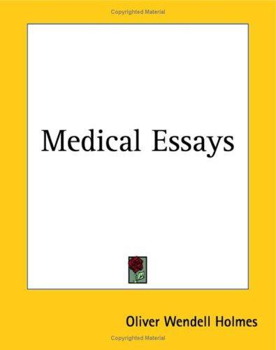 Download Medical Essays