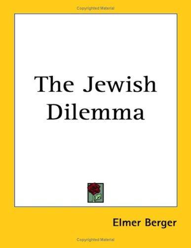 Download The Jewish Dilemma