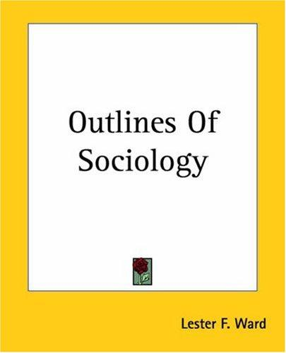 Download Outlines Of Sociology