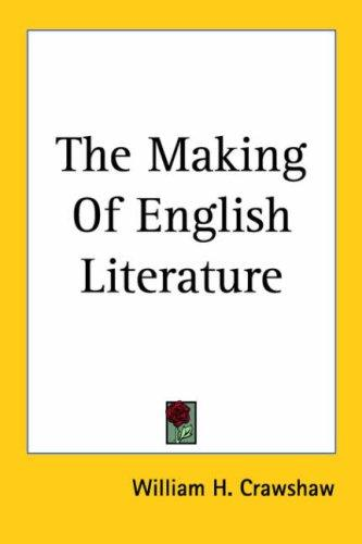 Download The Making of English Literature