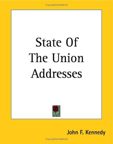 Download State Of The Union Addresses