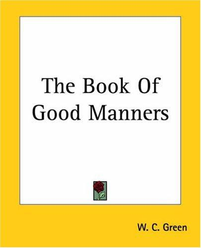 Download The Book Of Good Manners