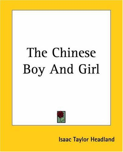 The Chinese Boy And Girl