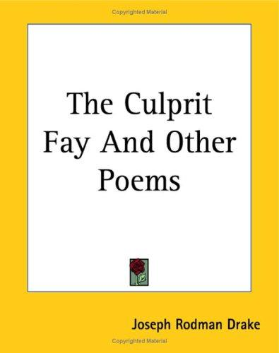 Download The Culprit Fay And Other Poems
