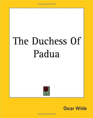 Download The Duchess Of Padua