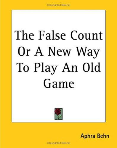 Download The False Count Or A New Way To Play An Old Game