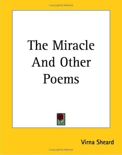 Download The Miracle And Other Poems
