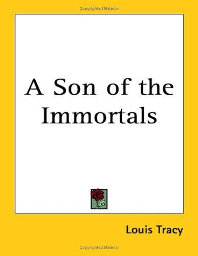 Download A Son of the Immortals